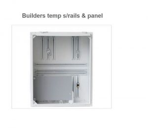 Builder Temp Box With Small Panel